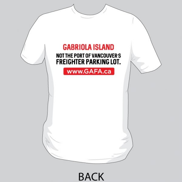 NO Freighters T-shirt back